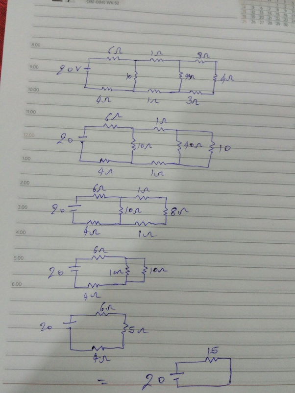 Formulas Parallel Circuits Advantages Power Current Voltage And