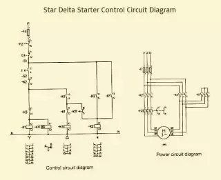 star delta wiring diagram control single phase motor forward reverse what is circuit for starter of a 3 quora