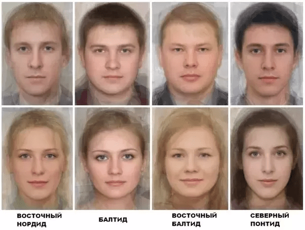 Do most Russians have a hair color that is not black? Do