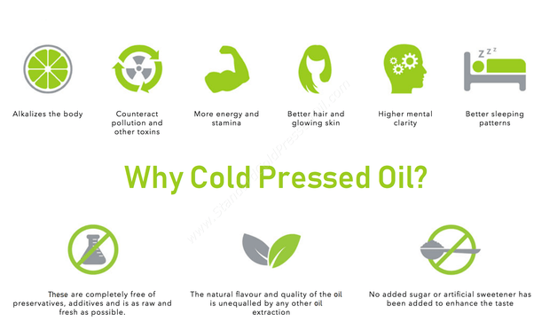What is the difference between cold pressed oil and ...