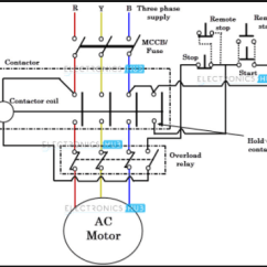 Vfd Starter Wiring Diagram 2004 Suzuki Eiger Why Do We Need A For Three Phase Induction Motor Quora Star Delta
