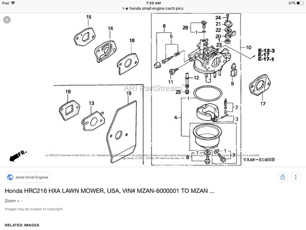 Honda Gx160 Electric Start Engine Wiring Diagram. Honda