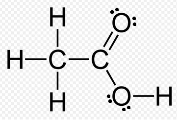 What is the Lewis Dot Structure of CH3COOH (Acetic Acid
