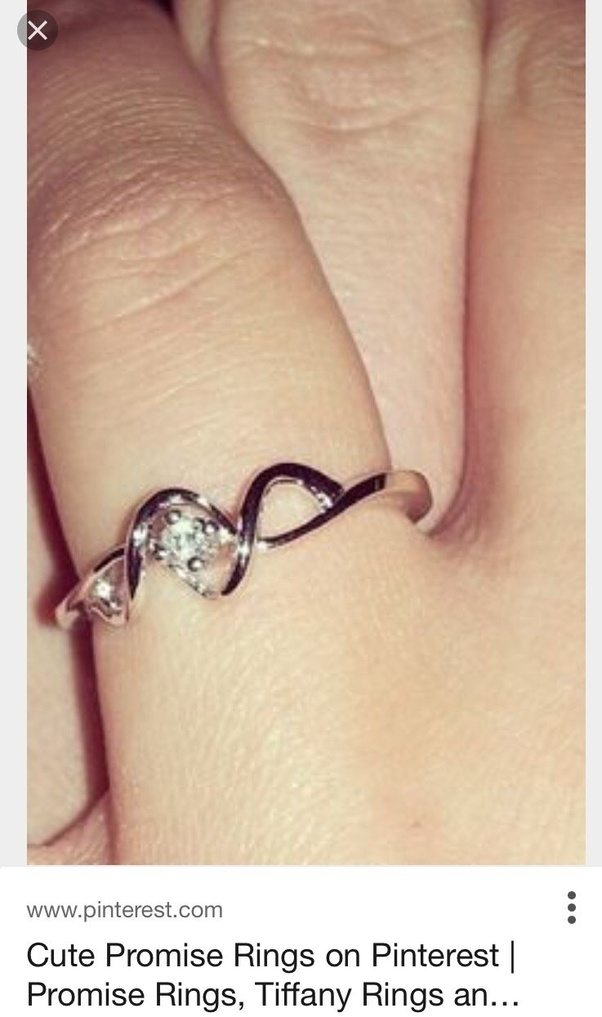 How to wear a promise ring