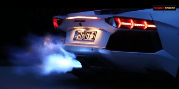Super Fast Car Wallpaper How Do Super Cars Like The Lamborghini Spit Fire Is It