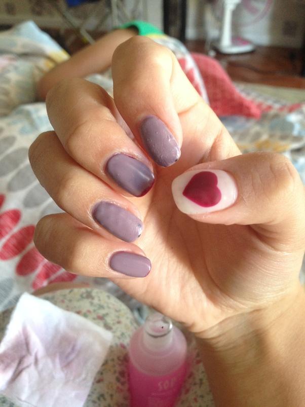 Can You Polish Over Dip Nails : polish, nails, Happens, Polish, Nails?, Quora