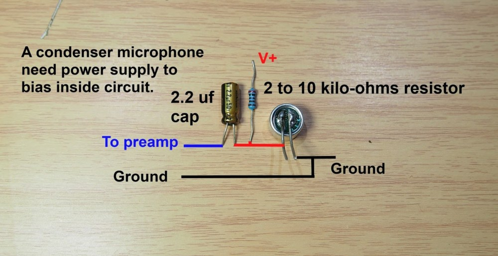 medium resolution of wiring a condenser mic wiring diagrams schemacondenser mic wiring wiring diagrams connecting a condenser microphone how