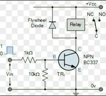 Can anybody show me a circuit diagram for switching a 240