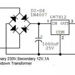 240v To 12v Transformer Wiring Diagram Vw Beetle 1965 How Convert 230v Ac Dc Quora Circuit