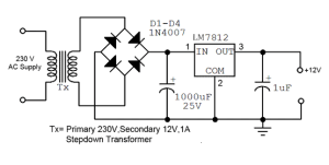 How to convert 230V AC TO 12V DC  Quora