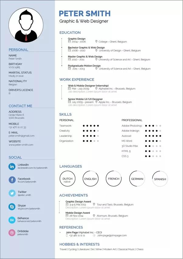 How To Make Best Resume Resume Sample