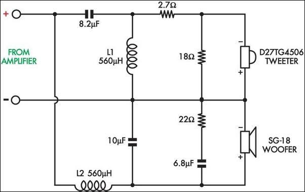 In an RLC series circuit, by giving a voice input and