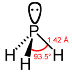 Electron Dot Diagram For Ph3 Lutron 3 What Is The Molecular Shape Of Quora Distorted Tetrahedral Aka Trigonal Pyramidal Fourth Corner Created By Free Pair Phosphor
