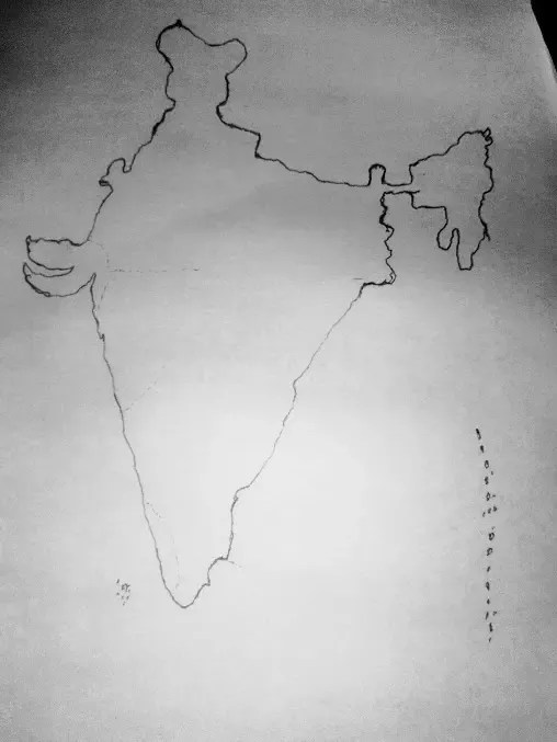 How To Draw India : india, Without, Looking, Shape, Country?, Quora