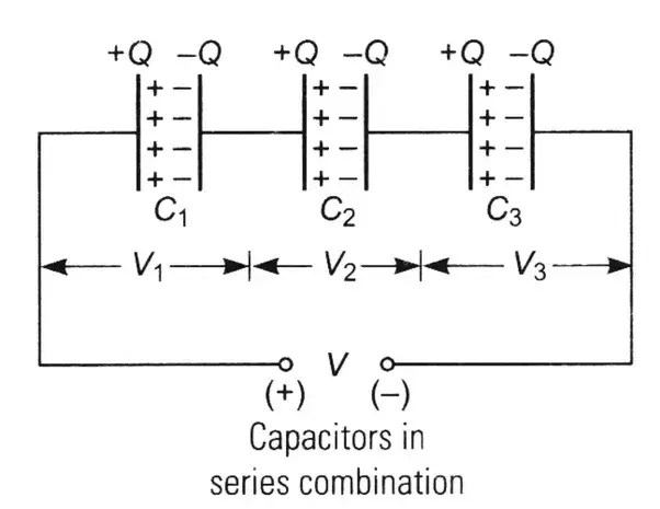 What Is The Series Combination Of A Capacitor Quora
