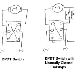 Dpdt Relay Wiring Diagram 1 Light 2 Switches Spdt Switch Simple