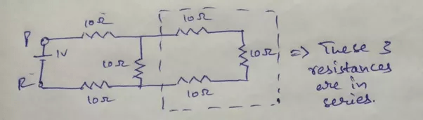 Figure 3 Equivalent Circuit After Series And Parallel Resistance