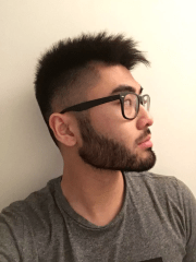 chinese people grow facial hair