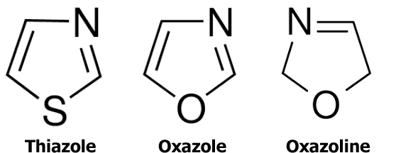 Why are oxazoles not commonly found in nature, and what