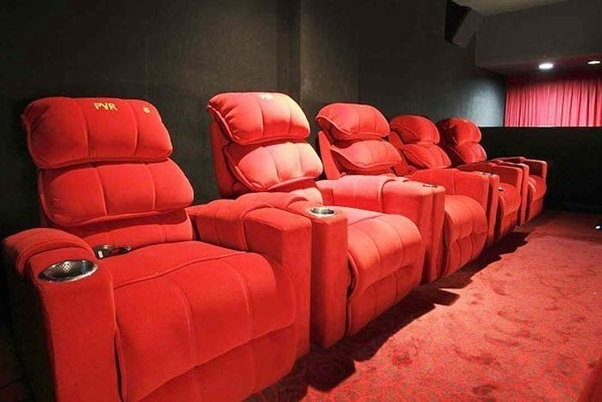 What does recliner seats mean in PVR Kota  Quora