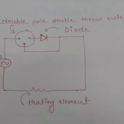 Light Wiring Diagram Double Switch Sequence For Email System Why Are Diode Used In A Solder Iron? - Quora