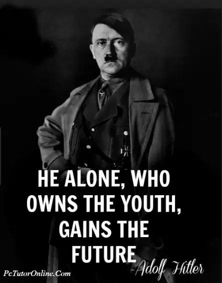 Inspirational Hitler Quotes : inspirational, hitler, quotes, Quotes, Adolf, Hitler?, Quora