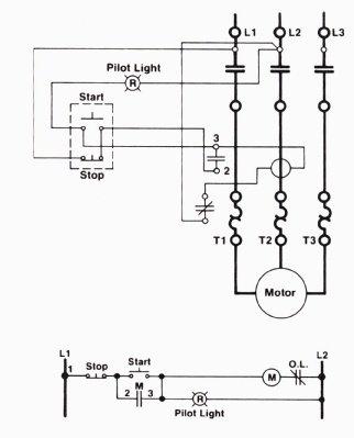 Plc Motor Control Circuit Example