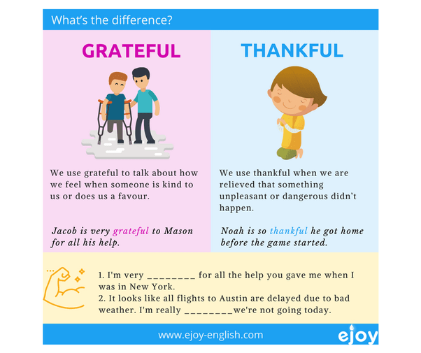 What's the difference between 'grateful' and 'thankful'? - Quora