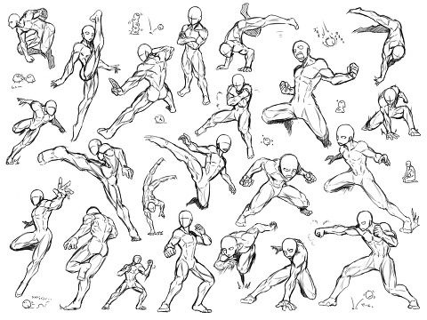 How long will it take to learn how to draw anime anatomy