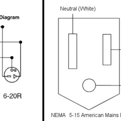 Nema 14 30 Plug Wiring Diagram 2007 Kenworth Radio Can You Convert A 6 20p Outlet To Fit 5 15 Standard But If Want Replace The Receptacle As Whole Just Assembly With