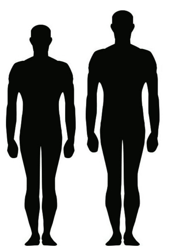 Height Differences Chart : height, differences, chart, Person, Side?, Quora