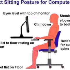 Posture Chair Sitting Grey Weave Garden Chairs Is On The Floor With Legs Crossed All Day Better Than If You Sit Correct It Can Minimize Damage Your Body And As A Whole