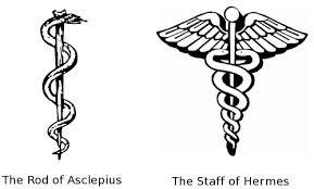 What does the Caduceus symbol mean, and why is it used as