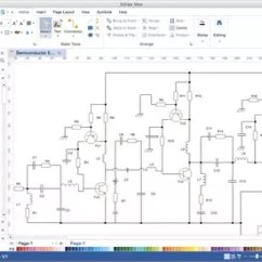 Draw Wiring Diagrams Usha Ceiling Fan Diagram How To Circuit On My Computer Quora Used Edraw Software