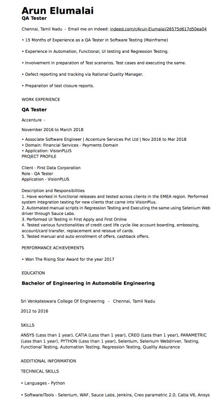 indeed resume parser
