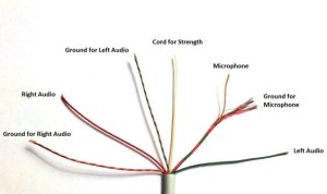 How to change earphone jacks with 8 wires? I have Samsung earphones which have 8 wires, so how
