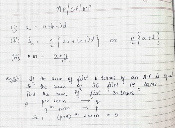 What are the important maths formulas for IPM for non