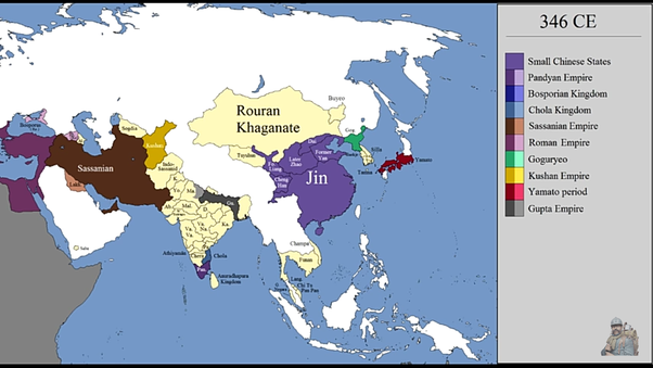 Why Didn't Ancient Indian Kingdoms Expand Westwards Into The Middle