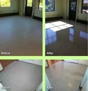 how to restore the shine of floor tiles