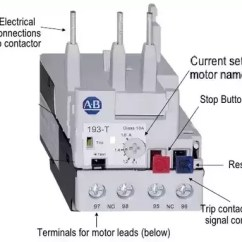 Direct Online Starter Wiring Diagram Opel Corsa C What Is The Effect On A Three Phase Induction Motor If Current I Guess You Are Referring Setting Of Thermal Overload Relay Incorporated In Looks Somewhat Like This