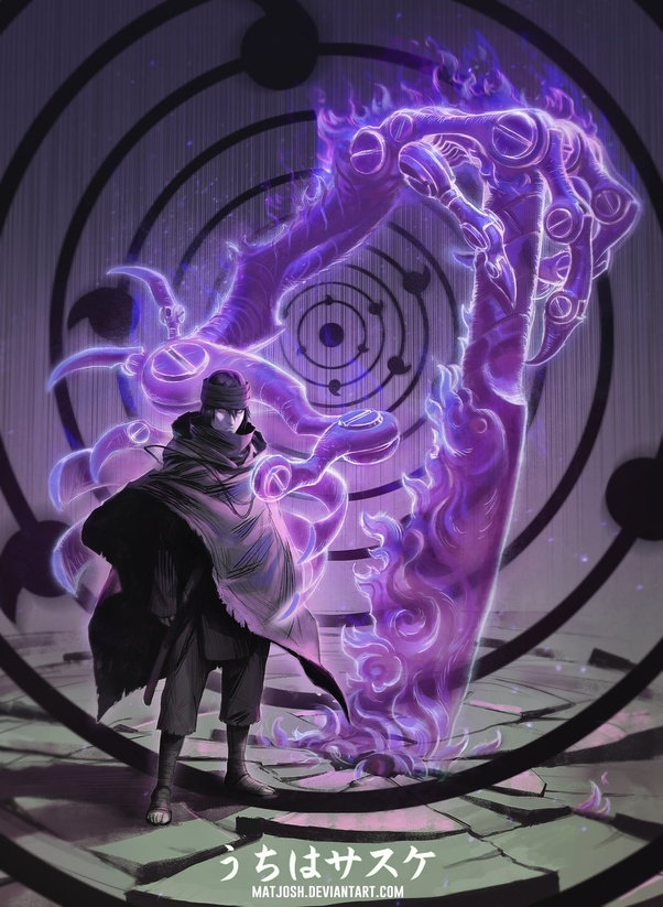 Sasuke Susanoo Arm : sasuke, susanoo, Sasuke, Asura, Susanoo, Create, Chakra, Combat, Really, Necessary?, Quora