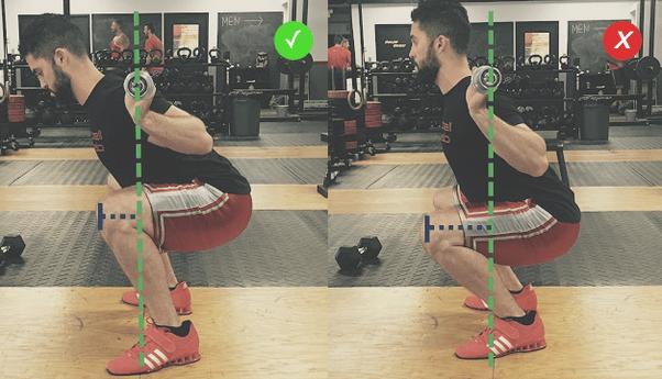 Comment faire des squats sans blesser votre lower back - Quora