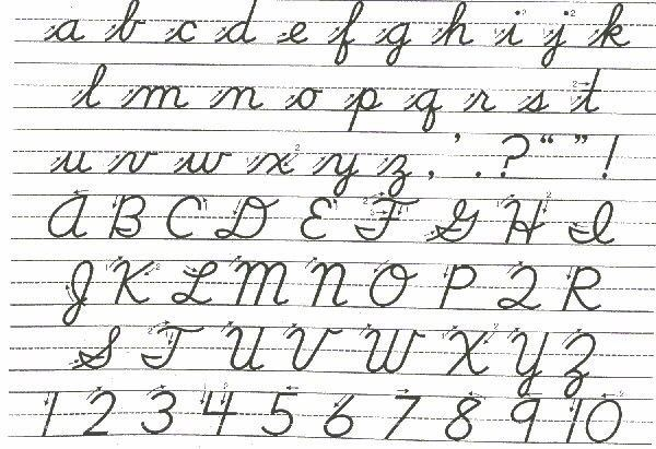 How to read old (1940s) cursive - Quora
