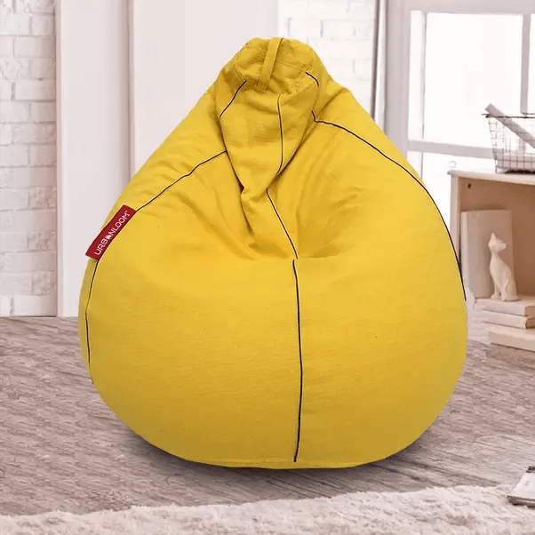 what size bean bag chair do i need x rocker gaming chairs how to select the of a quora urban loom bags are 100 cotton and eco friendly skin breathable alternative rexine