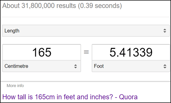 how many feet and