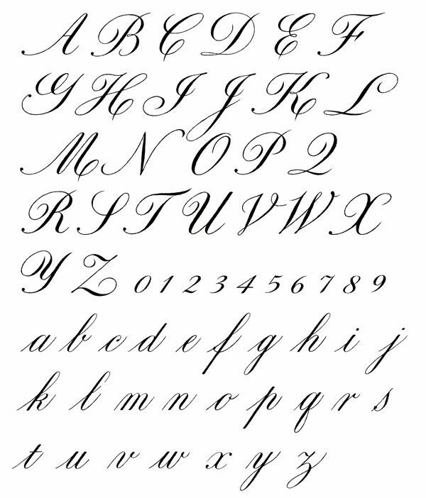 What Do Cursive Letters Look Like?  Quora