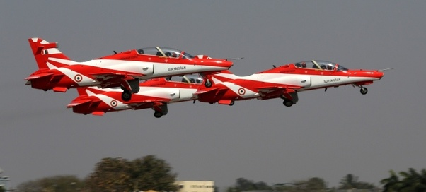 There Are Training Planes For Air Force Pilots In India