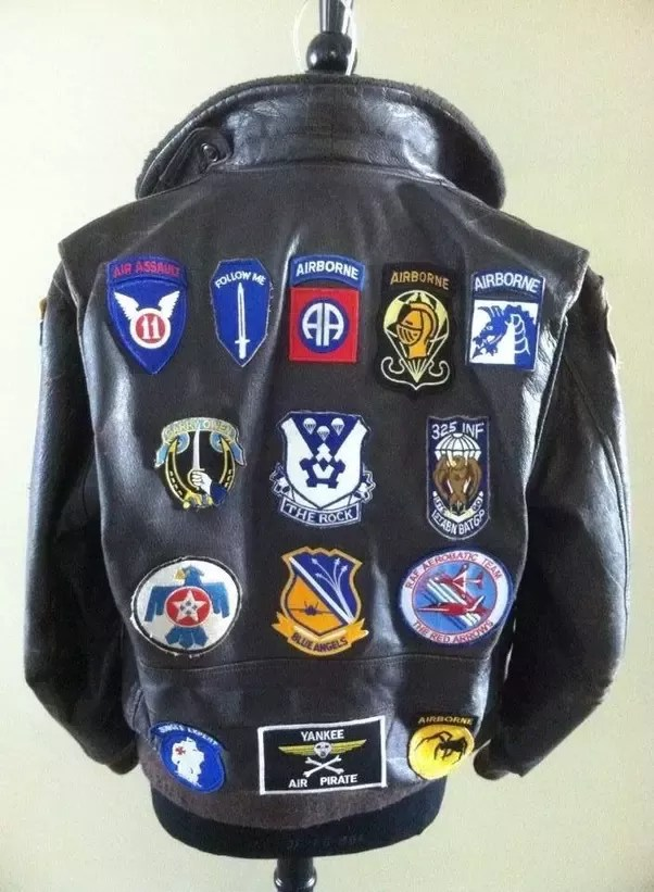 Patches For Jackets Near Me : patches, jackets, Patch, Leather, Quora