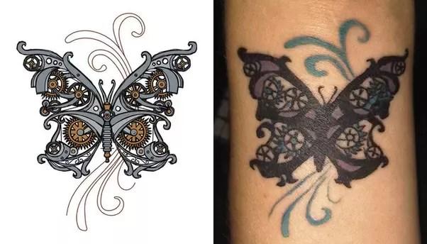 B S Love Tatoo Design