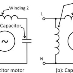 Ac Motor Run Capacitor Wiring Diagram Time Delay Relay Circuit Single Phase Two Great Installation What Is The Of A Quora Rh Com 220 Volt Start For 220v